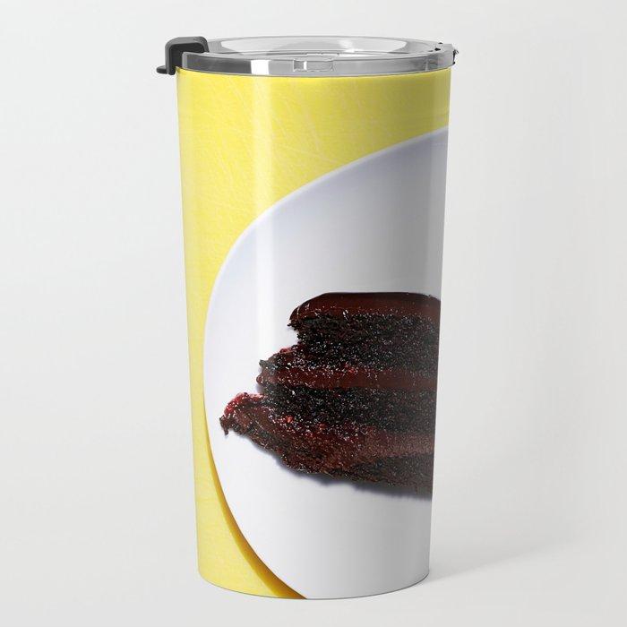 CAKE - PLATE - DIET - DESSERT - FOOD - PHOTOGRAPHY Travel Mug