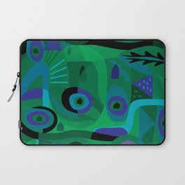 Cabins in the Sea Laptop Sleeve