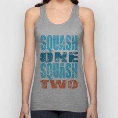 SQUASH ONE SQUASH TWO Unisex Tank Top