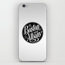 BOSTON & ALBANY Railroad circa 1900 iPhone Skin