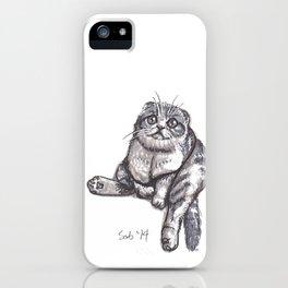 Scottish Fold iPhone Case