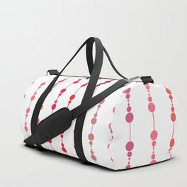 Multi-faceted decorative lines 12 Duffle Bag