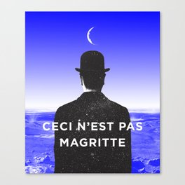 BOLO 1 magritte Canvas Print