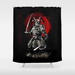 Bushido Samurai Shower Curtain