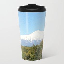 Mt. McKinley, Alaska Metal Travel Mug