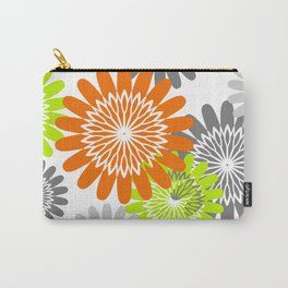 Warm Flower Stencils Carry-All Pouch