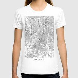 Dallas White Map T-shirt