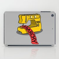 sewing iPad Cases featuring Anarchy Sewing Machine by mailboxdisco