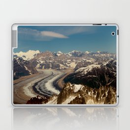 ALASKA I: Ruth Glacier beneath Denali ~ The Great One ~ Mt. McKinley Laptop & iPad Skin