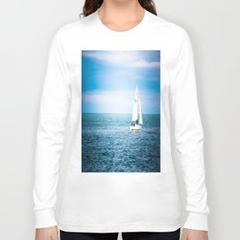 Howth sailboat Long Sleeve T-shirt