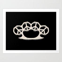 Peace Weapon Art Print