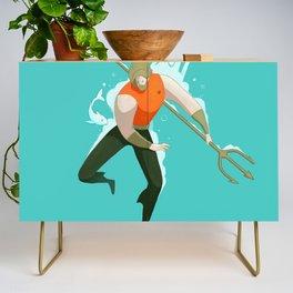 With the fishes Credenza