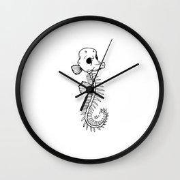 Dead in the Water Wall Clock