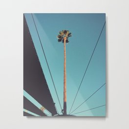 Geo-Palm - by SHUA artist Metal Print