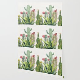 Cactus Watercolor Wallpaper