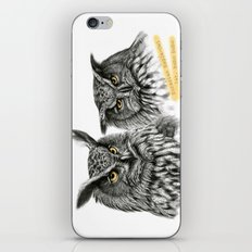 Two OWLs  G2010-11 iPhone & iPod Skin