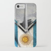 argentina iPhone & iPod Cases featuring Flags - Argentina by Ale Ibanez