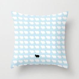 BLACK SHEEP V.2 Throw Pillow