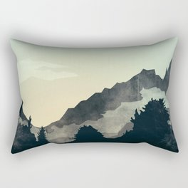 Misty Mountain Rectangular Pillow