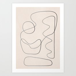 Abstract Line III Art Print