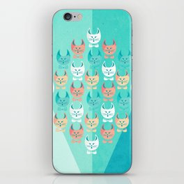Singing Cats iPhone Skin