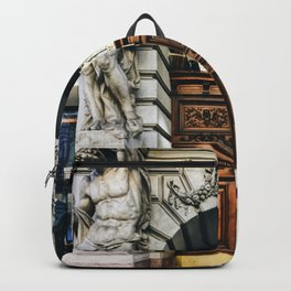Grand Budapest Doorway (Andrassy 9) Backpack