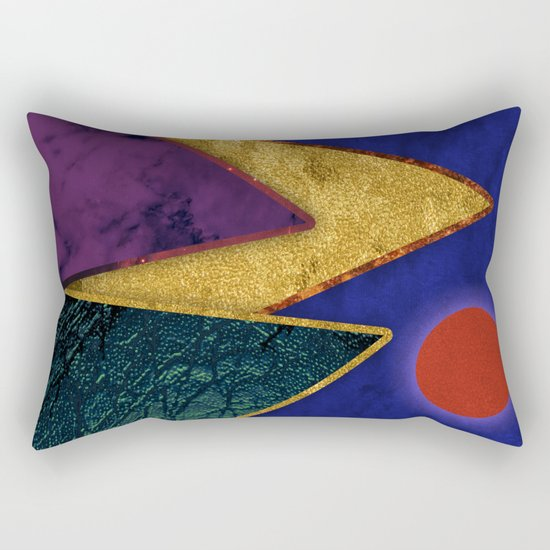 Abstract #424 Rectangular Pillow