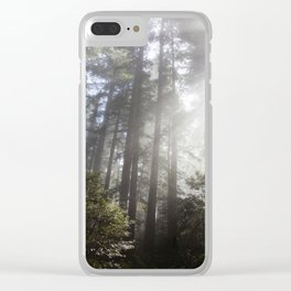 A Spectacle Too Much Clear iPhone Case