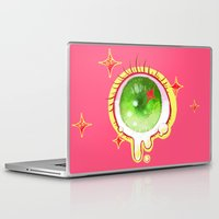 cyclops Laptop & iPad Skins featuring cyclops eye by isthatwhatyoumint