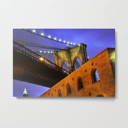 Brooklyn Bridge: NYC Metal Print