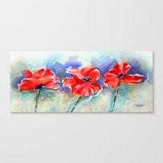 Poppy Pride Canvas Print