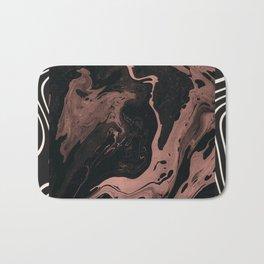 Suminagashi // 002 — Rose Gold Daydreams Bath Mat