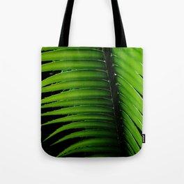 Palm tree leaf - tropical decor Tote Bag
