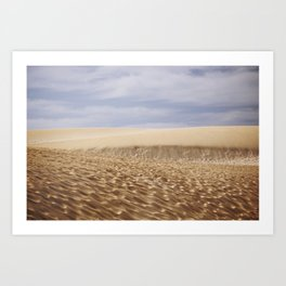Dramatic Sand Dunes Art Print