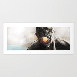 Cyklops Art Print