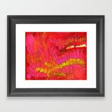 Reds Number 1 Framed Art Print