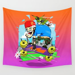MountainBoard over the Horizon Wall Tapestry