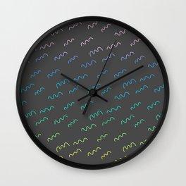 Wigglies Wall Clock