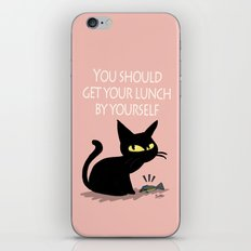 Get your lunch iPhone & iPod Skin