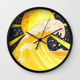 Honey wave Wall Clock