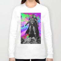 magneto Long Sleeve T-shirts featuring Magneto by Lord Rocco