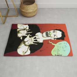 Not a Zombie Rug