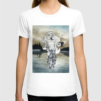 ghost T-shirts featuring Ghost by Steven Bossler