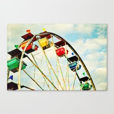 round and round we go Canvas Print