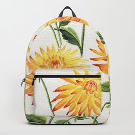 Dahlia Flowers 1 Backpack
