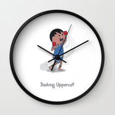 Dashing Uppercut Wall Clock