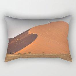 The red sand dunes of Sossusvlei desert, Namibia Rectangular Pillow
