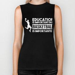 Basketball Shirt I Sport Streetball Hoop Dunk Biker Tank