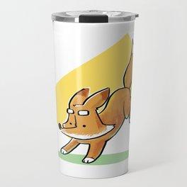 Jumping Fox Travel Mug
