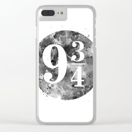 9 3 4 Clear iPhone Case